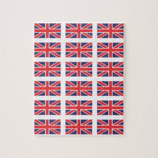 Great Britain Union Jack Flag Puzzle/Jigsaw Puzzle