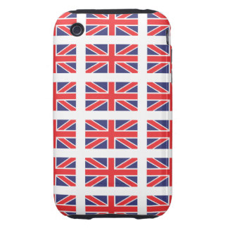 Great Britain Union Jack iPhone 3 Case-Mate Tough Tough iPhone 3 Covers