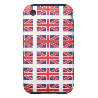 Great Britain Union Jack iPhone 3 Case-Mate Tough Tough iPhone 3 Cover