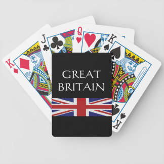 Great Britain/United Kingdom Bicycle Playing Cards