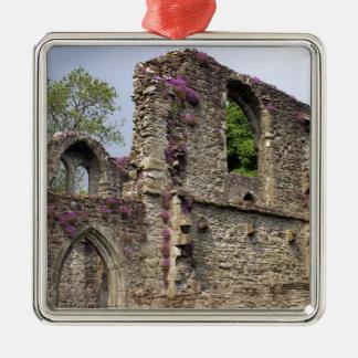 Great Britain, United Kingdom, Scotland. Ruins 2 Metal Ornament