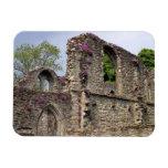 Great Britain, United Kingdom, Scotland. Ruins 2 Rectangle Magnet