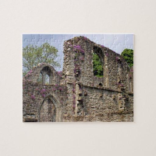 Great Britain, United Kingdom, Scotland. Ruins 2 Puzzle