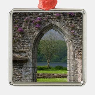 Great Britain, United Kingdom, Scotland. Ruins Metal Ornament