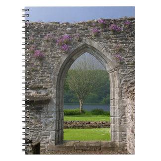 Great Britain, United Kingdom, Scotland. Ruins Note Book