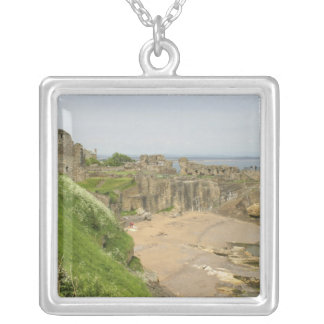 Great Britain, United Kingdom, Scotland, St. Silver Plated Necklace