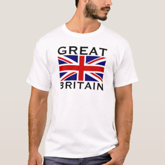 Great Britain World Flag England Union Jack T-Shirt