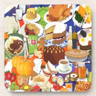 Great British Food Drink Coasters