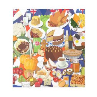 Great British Food Notepad