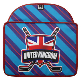 Great British Ice Hockey Shield Macbook Cover Sleeves For MacBook Pro