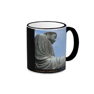 Great Buddha at Kamakura Ringer Mug