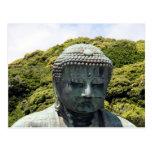 great buddha close postcard