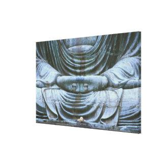 Great Buddha Detail, Kotokuji Temple, Kamakura, 2 Canvas Print