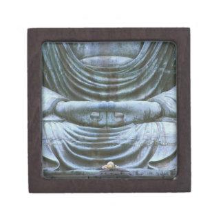 Great Buddha Detail, Kotokuji Temple, Kamakura, 2 Jewelry Box