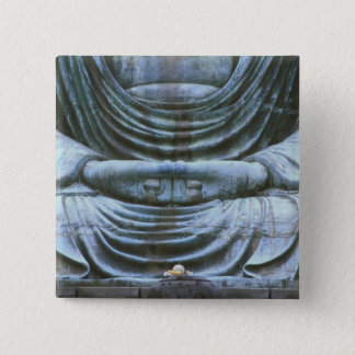 Great Buddha Detail, Kotokuji Temple, Kamakura, 2 Pinback Button