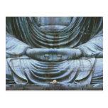 Great Buddha Detail, Kotokuji Temple, Kamakura, 2 Postcard