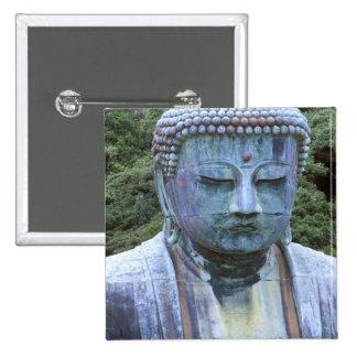 Great Buddha Detail, Kotokuji Temple, Pinback Button
