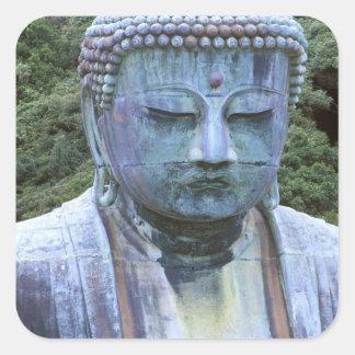 Great Buddha Detail, Kotokuji Temple, Square Sticker
