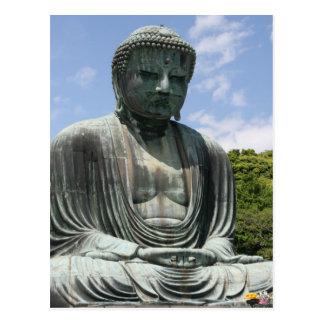 great buddha kamakura postcard