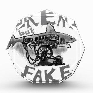 great but fake grey acrylic award