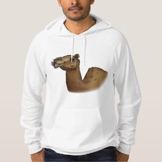 """Great """"Camel facts"""" hoodie for a man"""