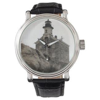 Great Captain Island Lighthouse Wrist Watch