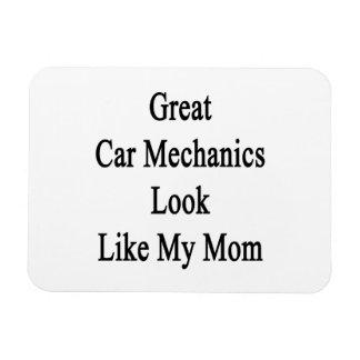 Great Car Mechanics Look Like My Mom Magnets