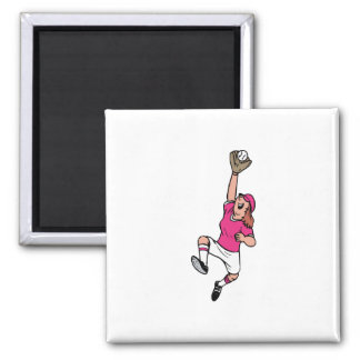 Great Catch 2 Inch Square Magnet