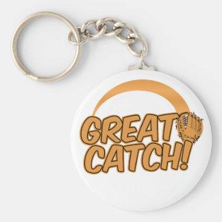 GREAT CATCH! custom key chain