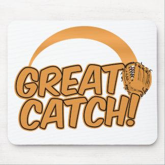 GREAT CATCH! custom mousepad