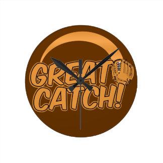 GREAT CATCH! custom wall clock