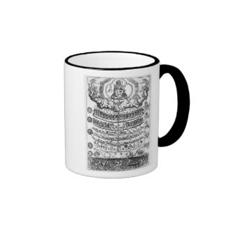 Great Chain of Being from 'Retorica Christiana' Ringer Mug