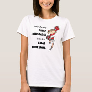 Great Cheer Mom-Red T-Shirt