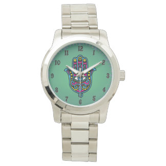 Great clock Silverplated Miriâ Wrist Watch