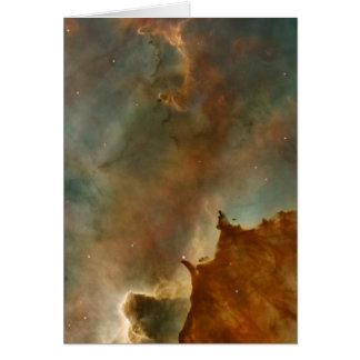 Great Clouds of the Corina Nebula Card