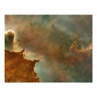 Great Clouds of the Corina Nebula Custom Announcements
