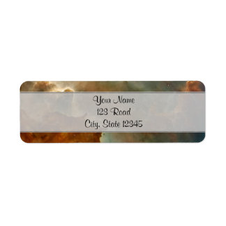 Great Clouds of the Corina Nebula Label