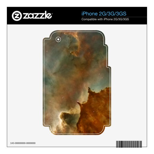 Great Clouds of the Corina Nebula Skins For iPhone 3
