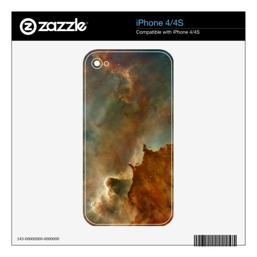 Great Clouds of the Corina Nebula Skin For iPhone 4S