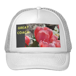 Great Coach! Truckers Hats Spring Tulip Flowers