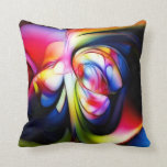 great color throw pillow