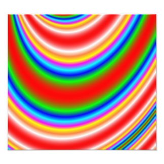 Great colorful line pattern photographic print