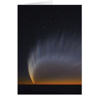 Great Comet McNaught 2007 Card