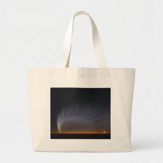 Great Comet McNaught 2007 Large Tote Bag