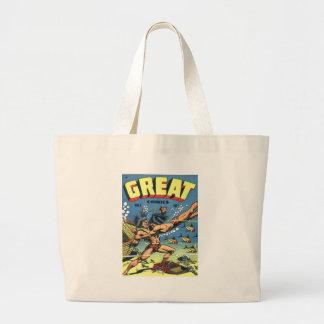 Great Comics Jumbo Tote Bag