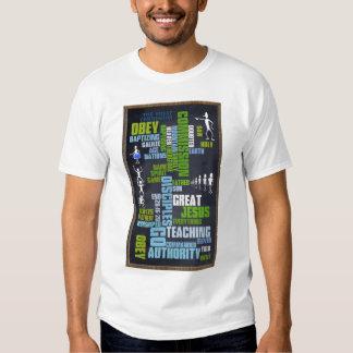 Great Commission Mathew 28 Chalkboard T Shirt