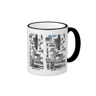 Great Commission Mathew 28 (v1) Ringer Mug