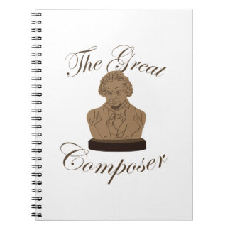 Great Composer Spiral Notebooks