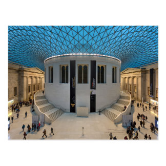 Great Court of the British Museum in London, UK Postcard