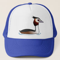 Great Crested Grebe Trucker Hat